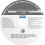 Harti Noi Navigatie VOLKSWAGEN RNS 510 , EUROPA VEST V.16 2019 + ROMANIA 2019