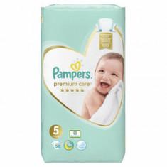 Scutece Pampers Premium Care Junior 5 Jumbo Pack, 11-18 kg, 58 buc