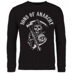 Pulover Tricotat Sons Of Anarchy: Skull Reaper