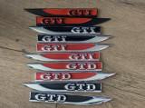 Emblema/logo/semn aripa GTI GTD GOLF/Volkswagen/VW