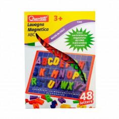 Tabla Magnetica Litere Mari Basic Quercetti, 4 ani+