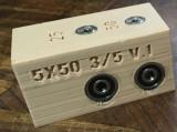 Sablon din plastic dur forma U ericsoane tip 5x50 3/5mm v.1