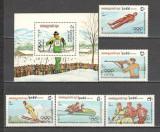 Cambodgea.1983 Olimpiada de iarna SARAJEVO MC.628, Nestampilat