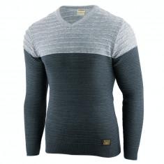 Bluza pentru barbati bleumarin flex fit casual alaska elegance