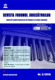 Cumpara ieftin Revista Forumul Judecatorilor - nr. 2 2015