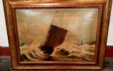 Ivan Aivazovsky replica tablou semnat peisaj marin rama antichitati cadou