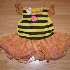 Costum carnaval serbare albina albinuta pentru copii de 2-3 ani, Din imagine