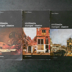 PIERRE CHAUNU - CIVILIZATIA EUROPEI CLASICE  3 volume