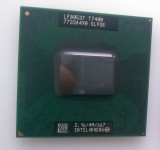 Cumpara ieftin Procesor laptop Intel Core2 Duo T7400 Socket M 4M Cache 2.16 GHz 667 FSB