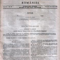 Monitorul Oficial 1990: prima lege electorală
