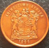 Moneda 1 CENT - AFRICA de SUD, anul 1996 *cod 5291 = UNC, Cupru-Nichel