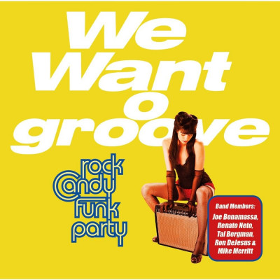 Rock Candy Funk Party We Want Groove (cd+dvd) foto