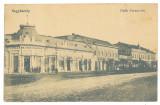 565 - CAREI, Satu-Mare, Market, Romania - old postcard - used - 1913