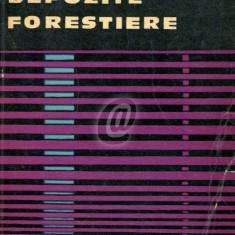 Depozite forestiere. Organizare si mecanizare
