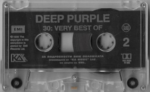 Caseta Deep Purple ‎– 30: Very Best Of, originala, holograma