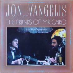 VINIL    Jon & Vangelis – The Friends Of Mr Cairo   - VG+ - foto