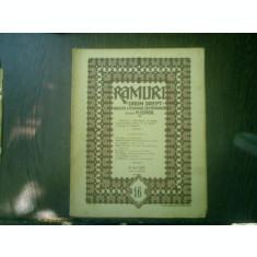 Ramuri - Drum drept revista literara saptamanala anul XVI nr. 16 6 april 1922 - N. Iorga