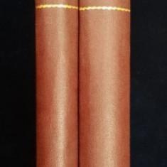ISTORIA IMPERIULUI OTOMAN de DEMETRIU CANTEMIRU, TRADUSA de IOS HODOSIU, 2 VOL. - BUCURESTI 1876
