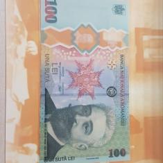 Bancnota 100 lei 2019 Romania Desavarsirea Marii Uniri I I C. Bratianu + BONUS
