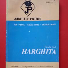 JUDETUL HARGHITA × Judetele patriei fara harta color