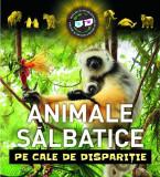 Animale sălbatice pe cale de dispariție (carte 3D)
