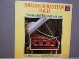 Bach – Sonatas for Flote & Cembalo (1982/Miller/RFG) - VINIL/RAR/NM, Deutsche Grammophon