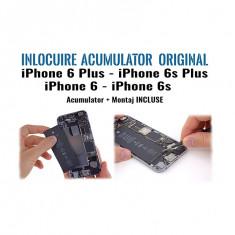 Inlocuire acumulator original APPLE pentru iPhone 6Plus iPhone 6s iPhone 6sPlus iPhone 6