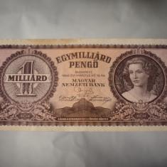 Bancnota Ungaria 1 Miliard Pengo 1946 - Egymilliard Pengo