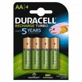 Set acumulatori Duracell, 4 x AA, 2500 mAh, 4 bucati
