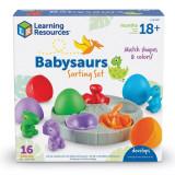 Set de sortat - Puiuti de dinozauri, Learning Resources