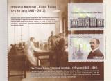 INSTITUTUL NATIONAL VICTOR BABES,BLOC,2012,Lp.1947a,MNH., Istorie, Nestampilat