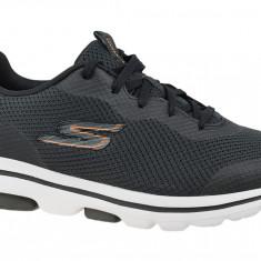 Incaltaminte sneakers Skechers Go Walk 5 Squall 216011-BKOR pentru Barbati