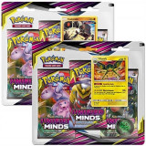 Jucarie Pokemon Tcg: Sun & Moon 11 Unified Minds 3 Pack Blister Produs Aleatoriu