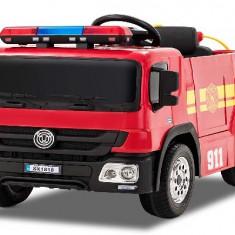 Masinuta electrica Pompieri Fire Truck Hollicy STANDARD RED