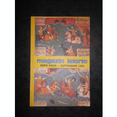 REVISTA MAGAZIN ISTORIC (Septembrie, 1991)
