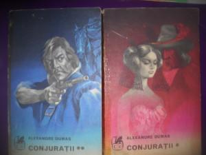 HOPCT  CONJURATII / ALEXANDRE DUMAS-2 VOLUME  - 1973 / 611   PAGINI