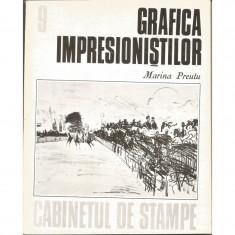 Grafica impresionistilor (vol. 9, seria Cabinetul de stampe) - Marina Preutu