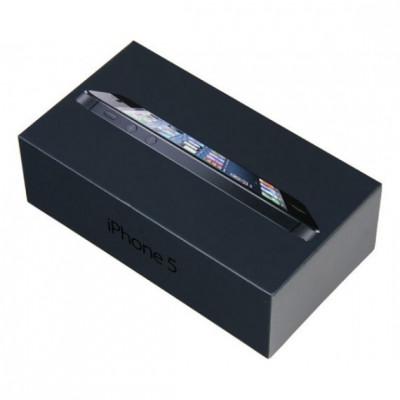 Cutie (ambalaj) original apple iphone 5g 16gb negru foto