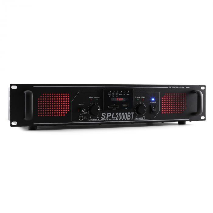 Skytec SPL 2000BT 2000W amplificator Hifi/PA Bluetooth USB