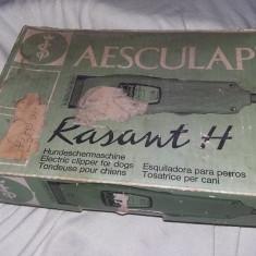 Masina de tuns profesionala Caini si pisici AESCULAP,Germany,Rezerve,T.GRATUIT