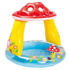 Piscina gonflabila pentru copii, model ciuperca, 22x24x9 cm