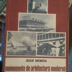 Monumente de arhitectura moderna – Jean Monda