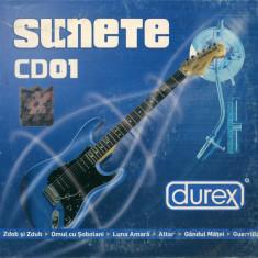 CD Sunete CD01, original: Sarmale Reci, Zdob si Zdub, Omul cu Sobolani
