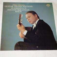 Milan Zelenka Guitar transcriptions - Johann Sebastian Bach - vinil - 1979