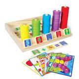 Cumpara ieftin Joc educativ asociere, puzzle si numaratoare.