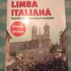 Limba italiana exercitii de gramatica si vocabular Mirela Aioane