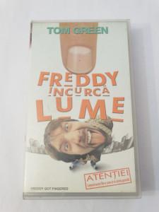 Caseta video VHS originala film tradus Ro - Freddy Incurca Lume