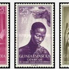 Guinea Spaniola 1955 - Apostolic Prefecture Fernando Poo, serie