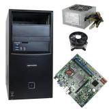 Placa de Baza Medion Akoya P2038 D Socket 1150 + Carcasa + Sursa + Cooler, Intel Core i3, Sub 1 GB, Fujitsu