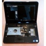 Carcasa laptop cu : capcac display ,rama ,balamale ,lvds,palmrest si bottom pentru - Netbook Dell Inspiron mini 1012